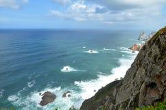Cabo da Roca, Португалия Стоковое Изображение