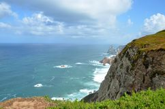 Cabo da Roca, Португалия Стоковые Фото