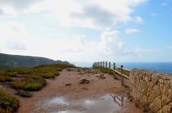 Cabo da Roca, Португалия Стоковое фото RF