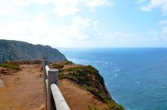Cabo da Roca, Португалия Стоковая Фотография RF