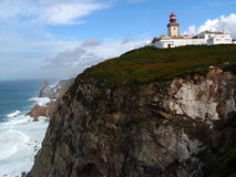 Cabo da Roca 1. Cabo da Roca, Europe's westernmost point, in Portugal Stock Image
