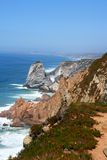 Cabo da Roca. Is the western point of Europe, Portugal royalty free stock image
