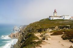 Cabo da Roca Royalty Free Stock Images