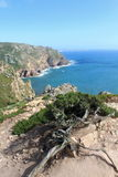 Cabo da Roca. The most westerly point of the European mainland, Portugal stock photo