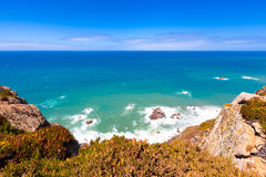 Cabo da Roca. Portugal - westernmost point of Europe Royalty Free Stock Image