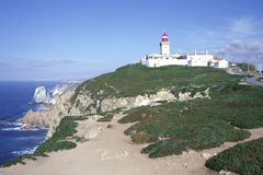Cabo da Roca. West most point of Europe, Portugal royalty free stock photos