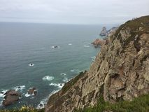 Cabo da Roca Royaltyfri Fotografi