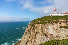 Cabo DA Roca au Portugal image libre de droits