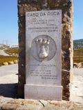 Cabo da Roca, Cape Portugal Stock Images