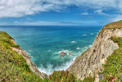 Cabo da Roca (Cape Roca), Portugal Royalty Free Stock Images