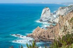 Cabo da Roca. Cascais, Portugal Royalty Free Stock Photo
