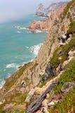 Cabo da Roca cliffs Royalty Free Stock Photo