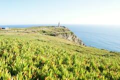 Cabo DA Roca - de meest westelijke omvang van vasteland Portugal en continentaal Europa royalty-vrije stock foto