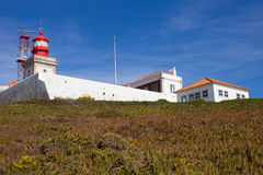 Cabo da Roca Lighthouse Royalty Free Stock Images