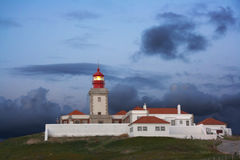 Cabo da Roca Lighthouse (Cape of Roca) Royalty Free Stock Photography