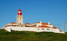 Cabo da Roca lighthouse, Portugal Stock Images