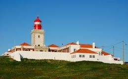 Cabo da Roca lighthouse, Portugal Stock Images