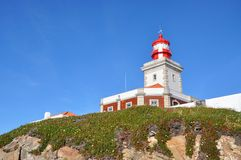 Cabo da Roca Lighthouse, Sintra, Portugal Stock Photography
