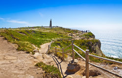 Cabo da Roca, the most western point of Europe, Portugal Stock Photography