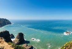 Cabo da Roca. Ocean view in Cabo da Roca, Portugal royalty free stock photos
