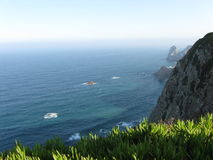 Cabo da roca. In October, the westernmost extent of mainland Portugal and continental Europe Stock Photo