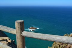 Cabo DA Roca Paisaje marino fotos de archivo libres de regalías