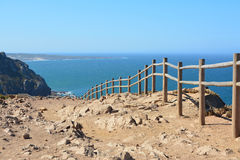 Cabo DA Roca Paisaje marino Fotografía de archivo
