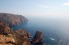 Cabo da Roca (Portogallo) Fotografia Stock Libera da Diritti