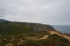 Cabo da Roca, Portogallo Immagini Stock