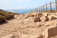 Cabo da Roca Portogallo Fotografia Stock