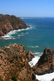 Cabo da Roca, Portugal. Cabo da Roca is the western point of Europe, Portugal stock images