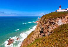 Cabo DA Roca, Portugal Photographie stock libre de droits
