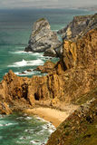 Cabo DA Roca, Portugal. Stockfotos