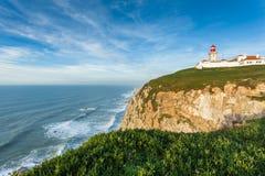 Cabo DA Roca, Portugal Lizenzfreie Stockfotos