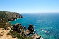 Cabo DA Roca, Portugal Imagen de archivo libre de regalías
