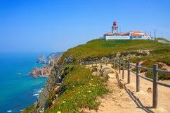 Cabo da Roca. In Portugal Royalty Free Stock Images