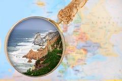 Cabo DA Roca, Portugal Stockfotografie