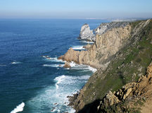 Cabo DA Roca, Portugal Lizenzfreies Stockbild