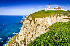 Cabo da Roca, Portugal - Atlantic Ocean royalty free stock image