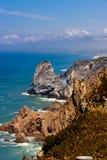 Cabo da roca portugal cliffs Stock Images
