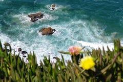 Cabo DA Roca in Portugal stock afbeelding