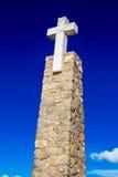 Cabo DA Roca, Portugal La mayoría del punto occidental de Europa Imagen de archivo