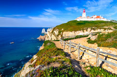 Cabo da Roca, Portugal Royalty Free Stock Image