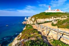 Cabo da Roca, Portugal royalty free stock image
