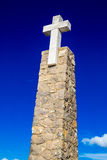 Cabo Da Roca, Portugal. Most western point of Europe. Portugal. Most western point of Europe stock image