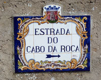 Cabo Da Roca in Portugal Royalty Free Stock Photography