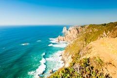 Cabo da Roca, Portugalia (Przylądek Roca) Zdjęcia Royalty Free