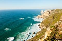 Cabo da Roca, Portugalia (Przylądek Roca) Zdjęcia Stock