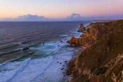 Cabo da Roca przylądek Roca, Portugalia - Zdjęcia Royalty Free