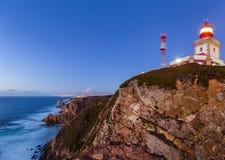 Cabo da Roca przylądek Roca, Portugalia - Zdjęcie Royalty Free
